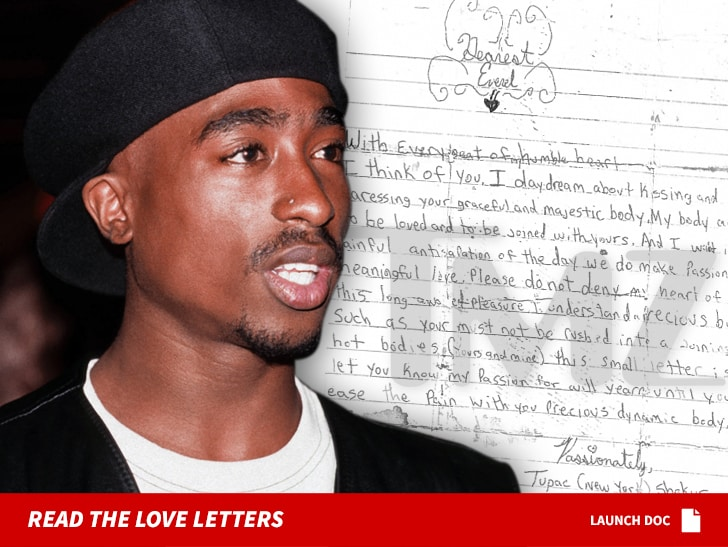Tupac Shakur's steamy letters to teen crush hits market for $15k