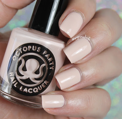 Octopus Party Nail Lacquer You, Me, and Daiquiri | Creme a la Mode Box #4 • Summer 2016