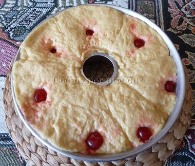 Roscón de Reyes. En molde levado