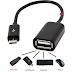 ما هو USB OTG وكيف تعرف أن جهازك اندرويد يدعم الفأرة ولوحة المفاتيح و المودم وفلاش Clé USB الخارجي