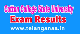 Cotton College State University Assam PG 2nd Sem 2016 Exam Results