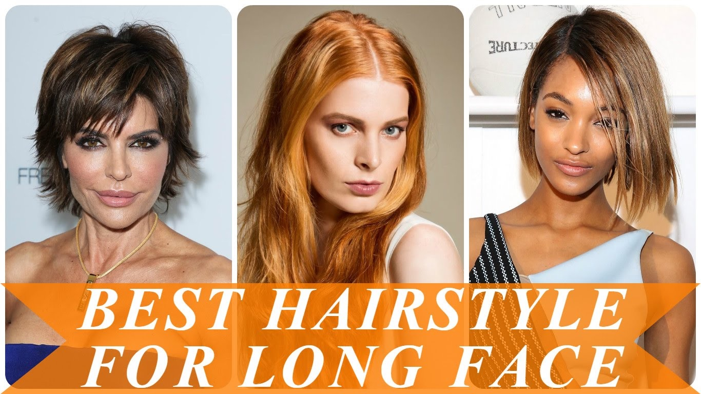 Best Hairstyles For Long Faces 2018 Best Haircuts For Long Faces