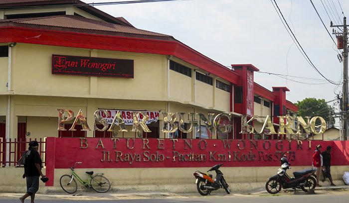 Pasar Bung Karno, Baturetno; Konon Dulunya Stasiun Baturetno