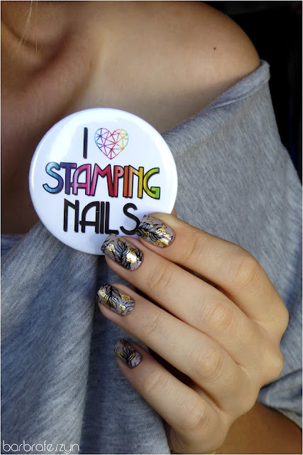 i love stamping nails