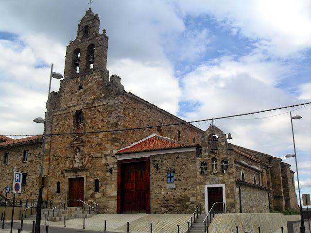 Iglesia en Astorga en el casco antiguo