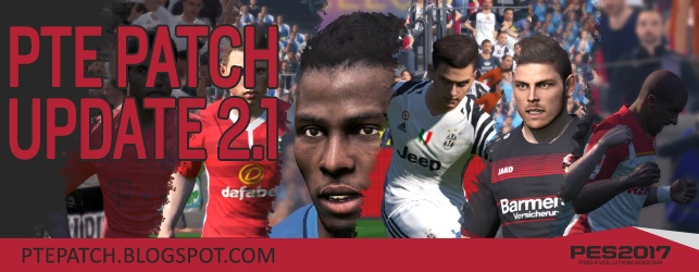 PES 2017 PTE Patch Update 2.1
