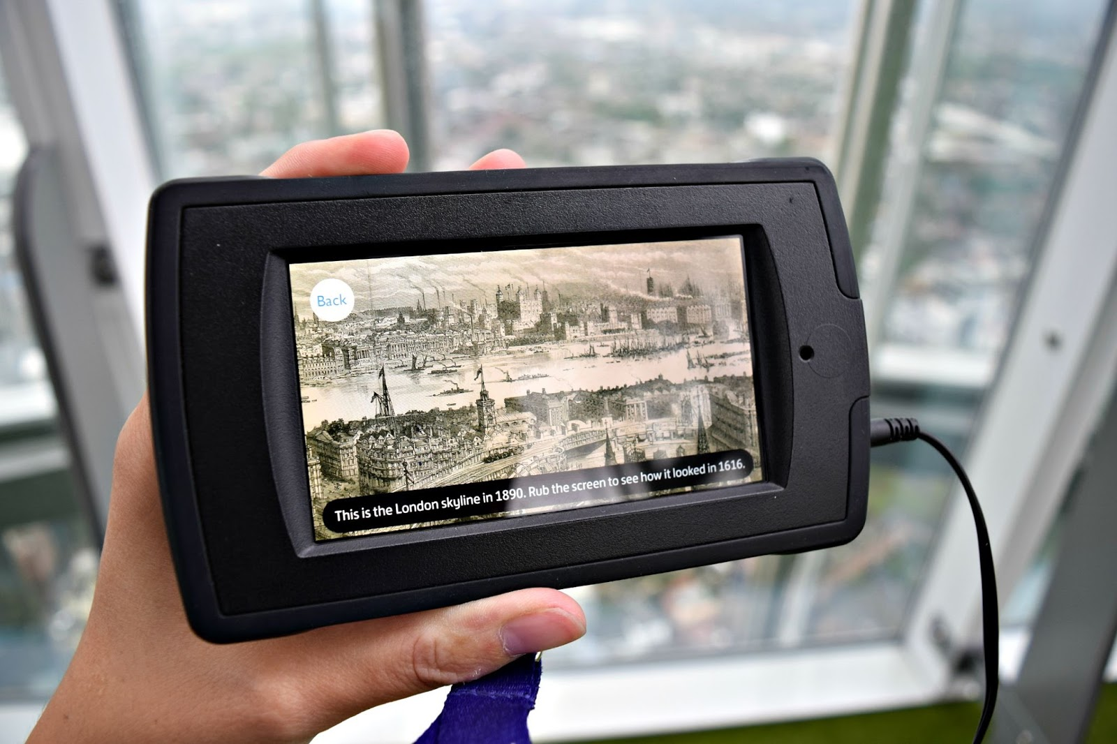 audio guide the shard london