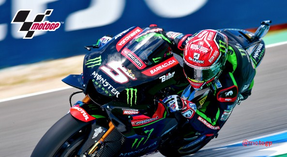 Kualifikasi MotoGP Prancis: Zarco Pole Position, Rossi P9