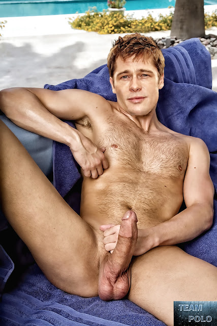 Remarkable, very brad pitt penis picture