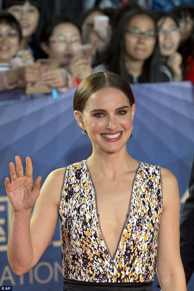 Natalie Portman stuns at the Beijing Film festival