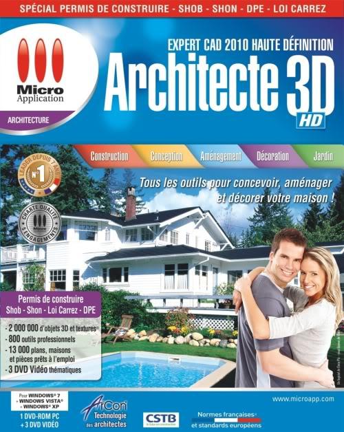 architecte 3dhd expert cad 2010