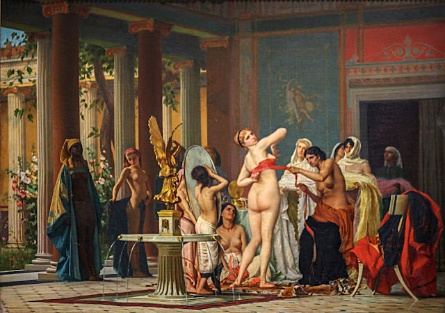Gustave Boulanger - dopo il bagno - sex paintins
