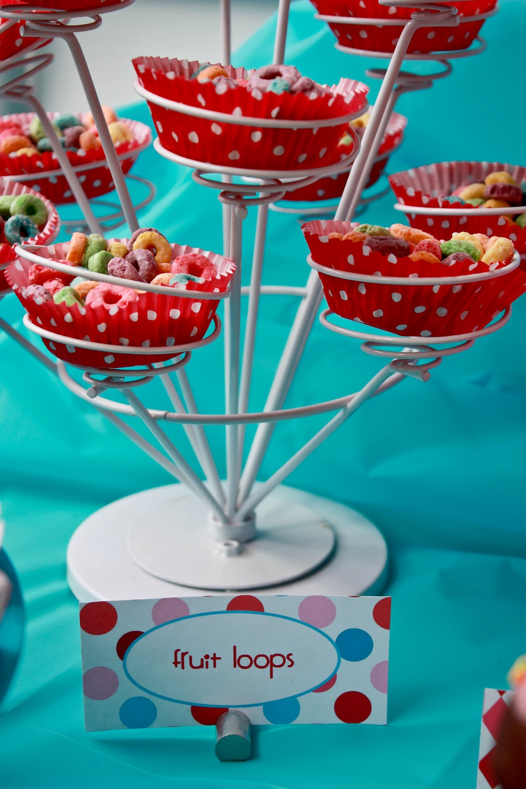 Nadia\'s Circus Party: Dessert Buffet. - Pretty Real