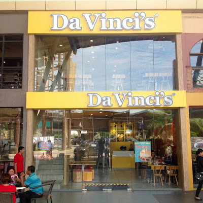 Da Vinci's Famous White Sauce Pizzas, Pizzeria in Cebu, Da vinci's, Pizza Piccolo, Potato Gusto, Chicken Gusto, Pan Gusto, White Sauce Pizza