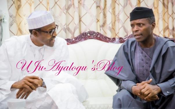 SGF, NIA boss: Osinbajo submits probe report to Buhari