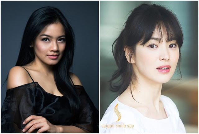 Titi Kamal & Song Hye-kyo (kelahiran 1981)