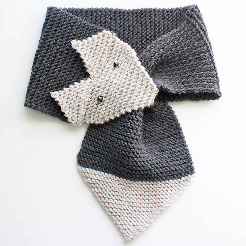 Fox Scarf - Women & Child Sizes - Free Pattern