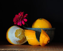 Photo For Challenge 56 - Still Life with Lemons - Sep 16, 2015 -  Oct 25, 2015