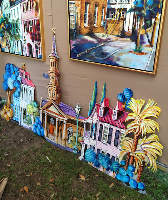 Fred Jamar Art at the 2015 Piccolo Spoleto Festival Art Exhibition | The Lowcountry Lady