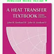 A Heat Transfer Textbook |Download Books