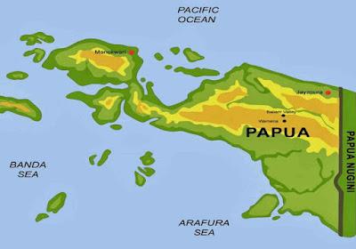 Keindahan Alam Papua, Penyakit Malaria di Papua, Kekerasan di Papua, PT Freeport Indonesia