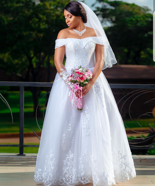 pokello hunts for a wedding gown