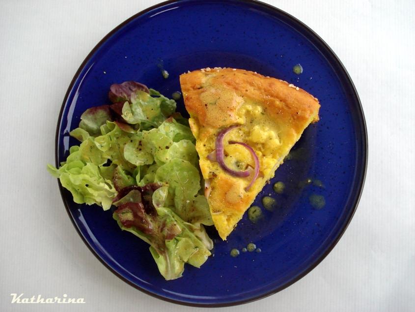 Blumenkohl Parmesan Kuchen Katharina Kocht
