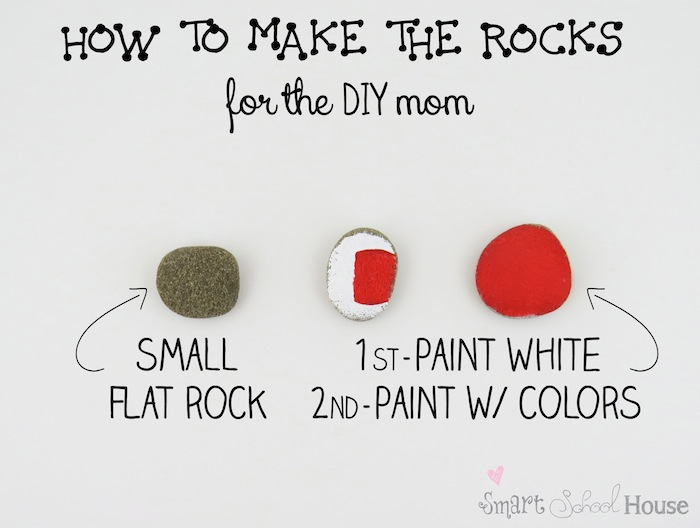 How to Make a Colored Rock Game for the DIY Mom
