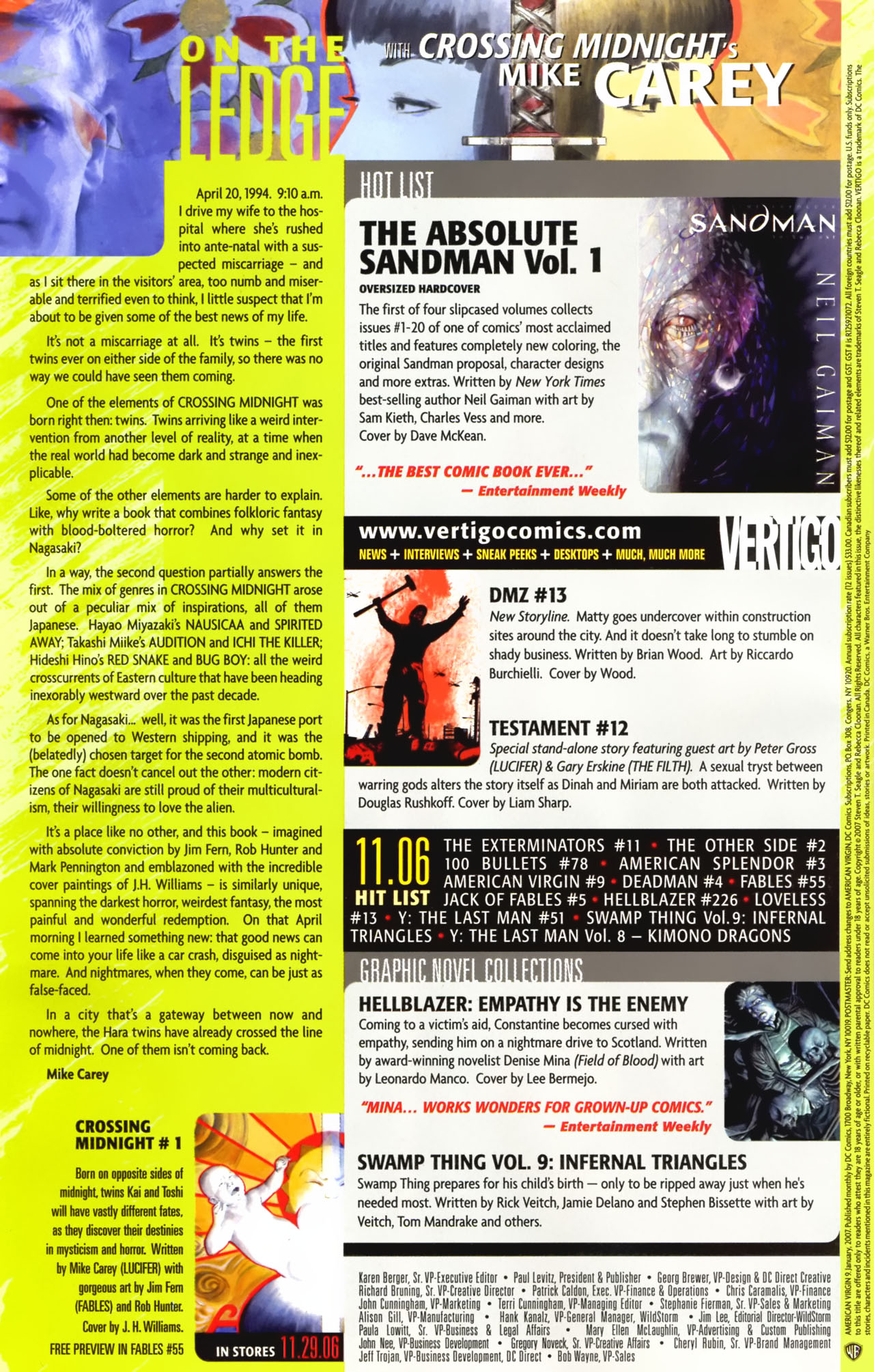 Read online American Virgin comic -  Issue #9 - 21