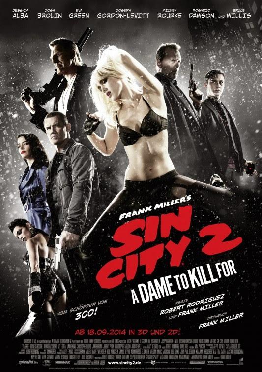 Sin City 2 A Dame To Kill For / Half SBS / 1080p / EN / 2014