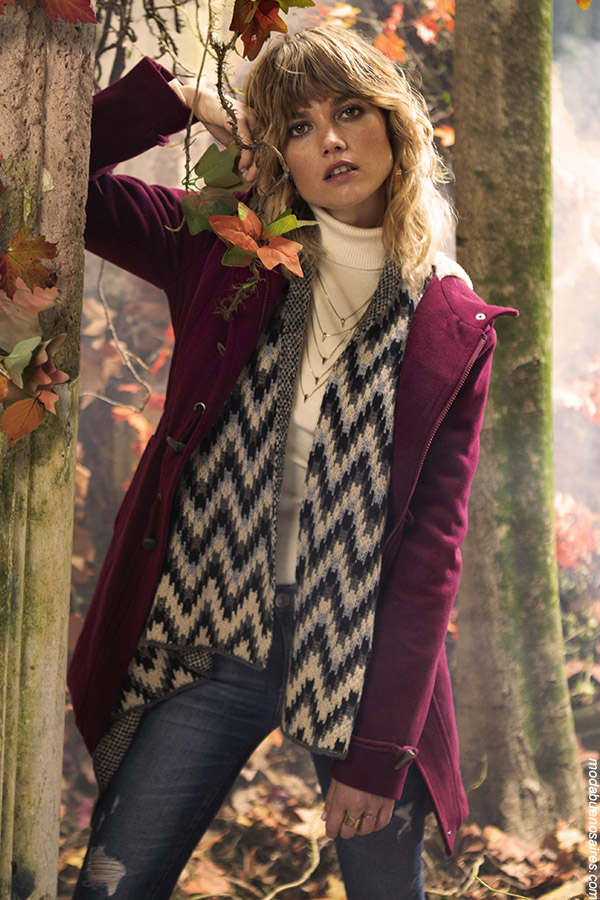Camperas de moda otoño invierno 2019. Moda urbana mujer otoño invierno 2019. #ropa