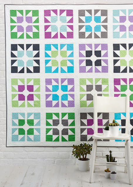 Split Stars quilt by A Bright Corner from Love Patchwork & Quilting Magazine