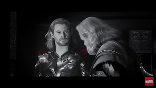 Thor, Odin, Avengers End Game