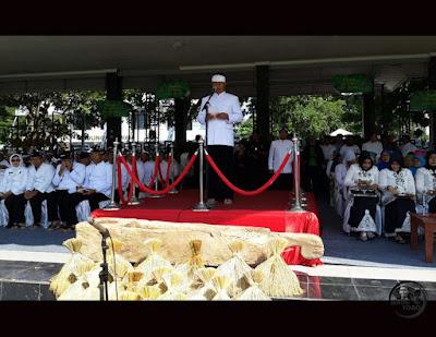 HUT Ke-68 Kabupaten Subang, 5 April 2016. Bupati Subang H. Ojang Sohandi