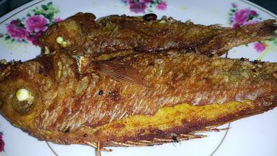 ikan kerisi goreng
