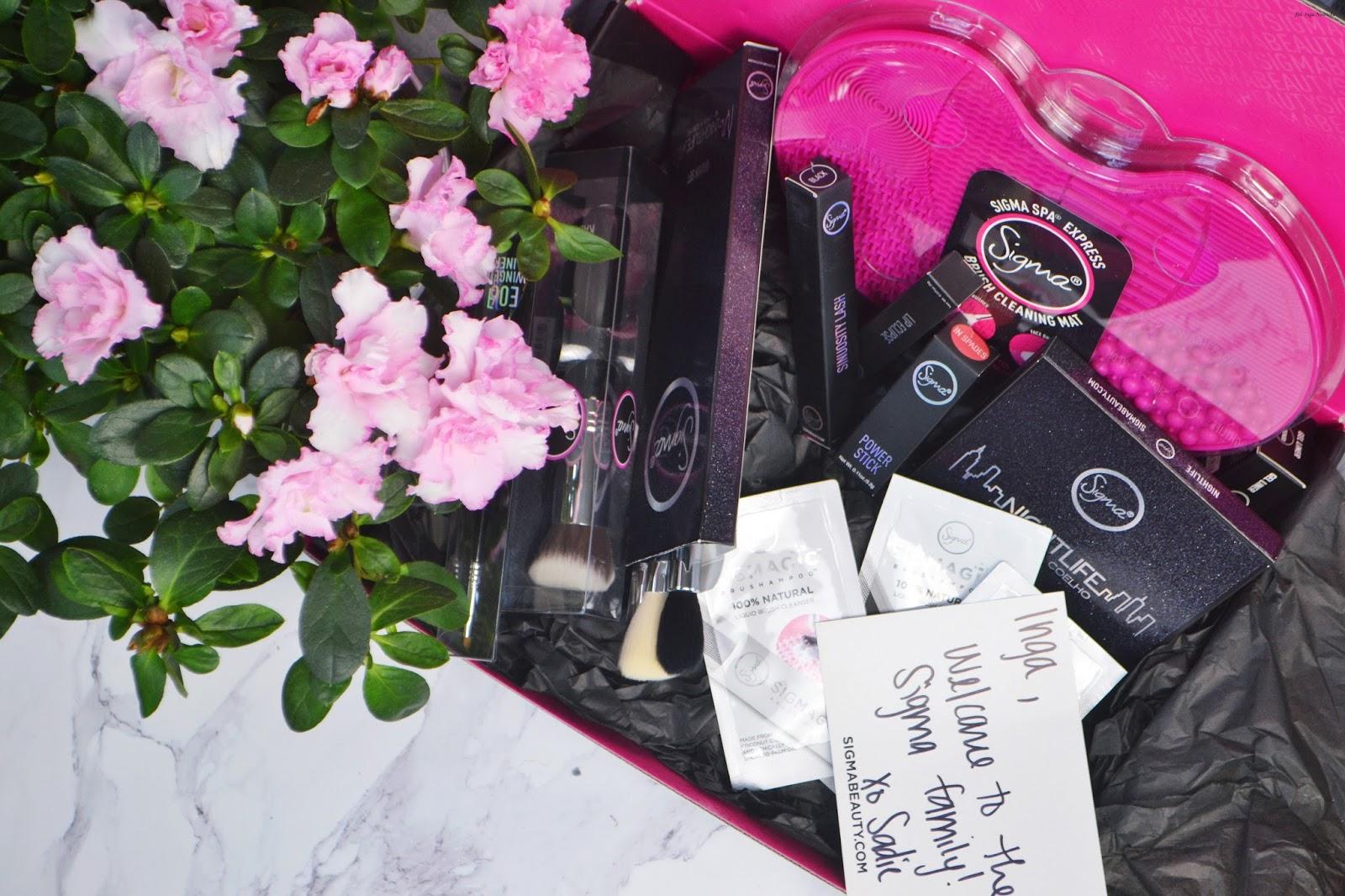 kosmetyki marki Sigma Beauty