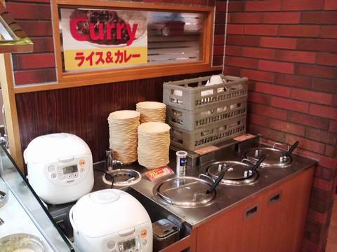 バイキングコーナー(ライス&カレー&スープ) ビッグボーイ一宮若竹店