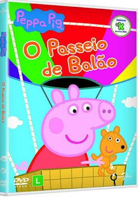 Peppa O Passeio De Balao 2017 DVD R4 NTSC Latino