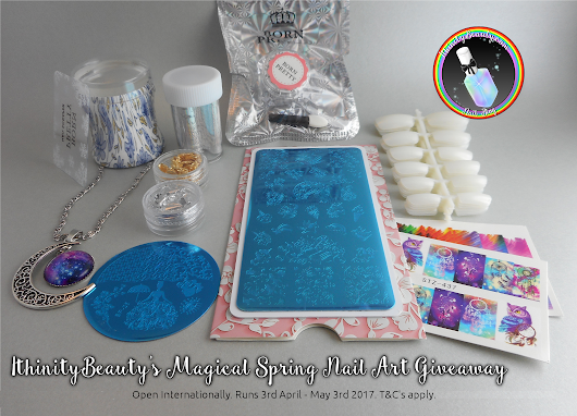 IthinityBeauty's 'Magical Spring Time Giveaway' - Open Internationally.
