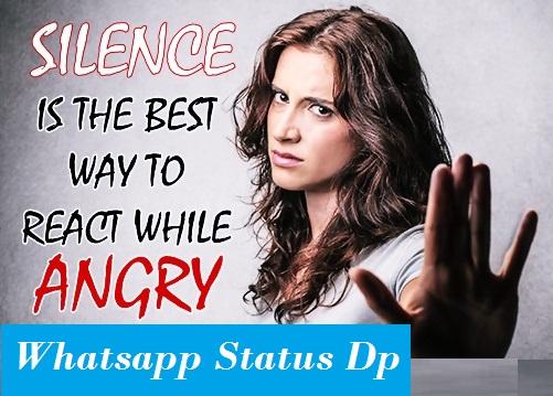 whatsapp angry status