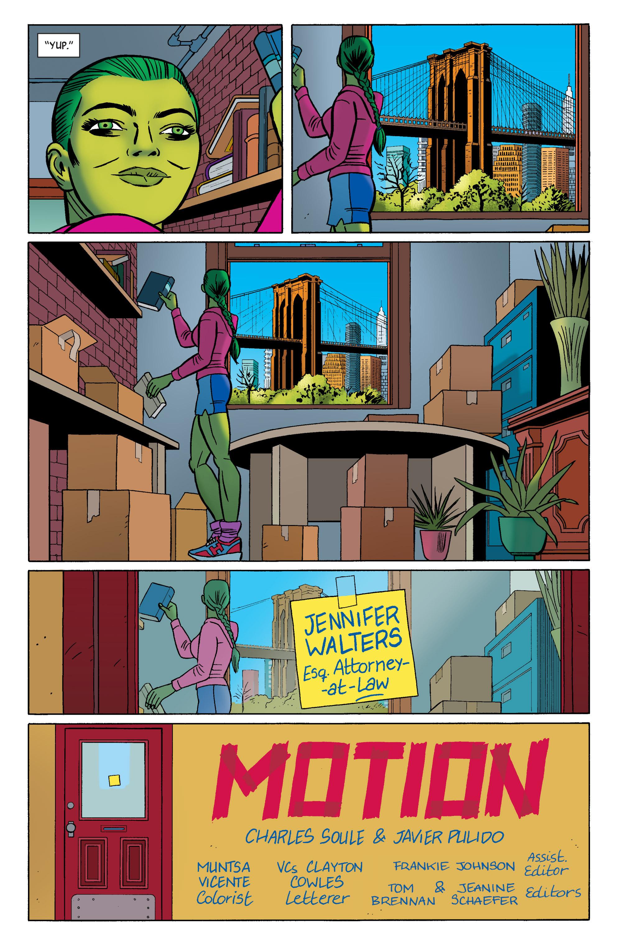 Read online She-Hulk (2014) comic -  Issue #1 - 20