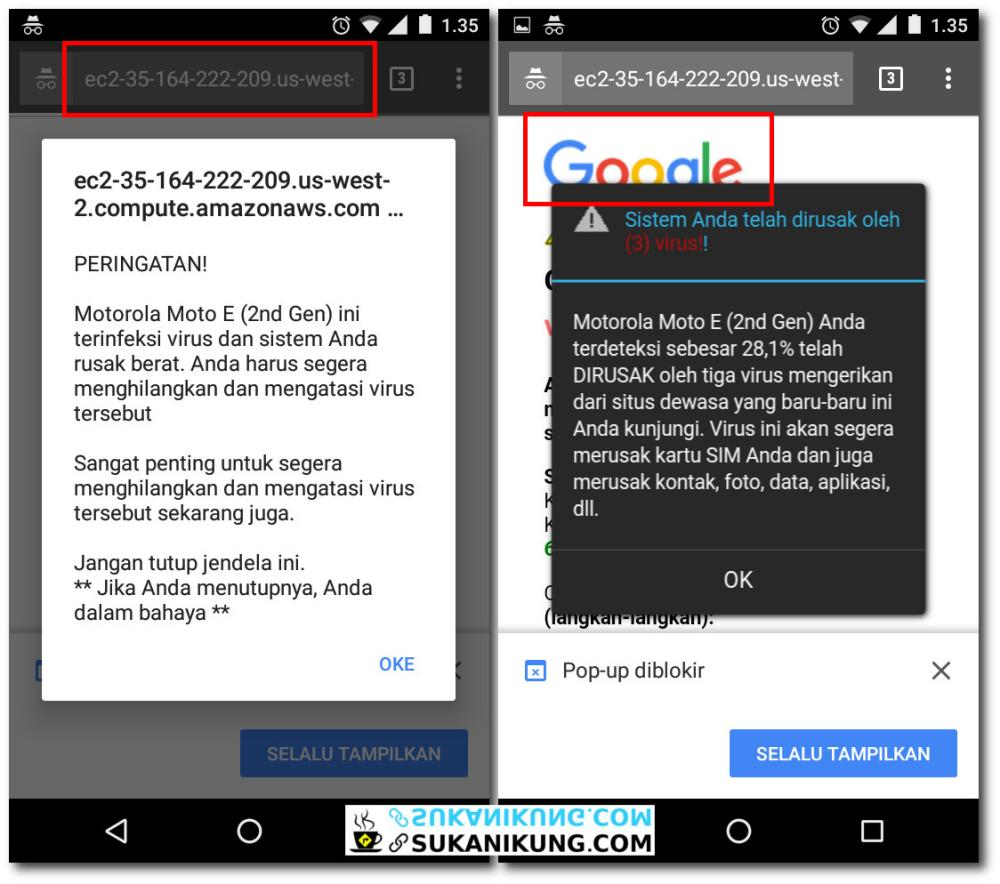 AWAS JEBAKAN! Kenali Situs Mobile dan Informasi Palsu Saat Browsing - www.sukanikung.com