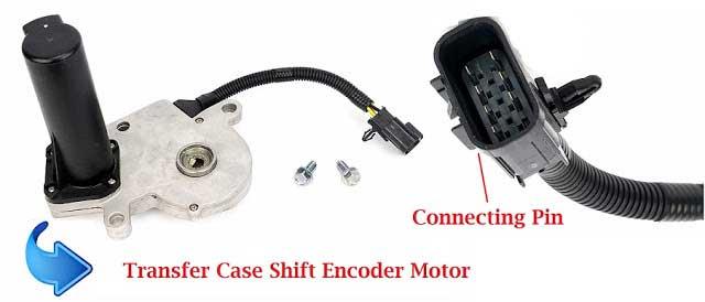 Transfer case Shift Encoder Motor