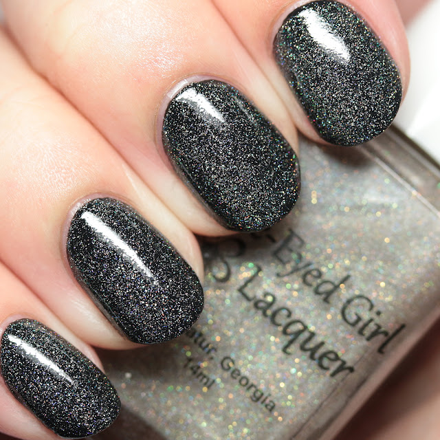Blue-Eyed Girl Lacquer Starlight in the Gloom over Won't Sleep Again