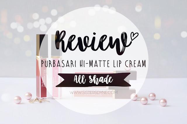 REVIEW PURBASARI HI MATTE LIP CREAM