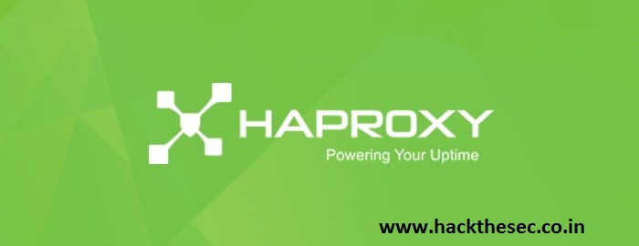 Installing HAProxy For Load Blancing And Protecting Apache