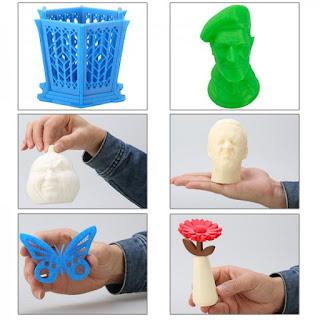 il est possible de réaliser de nombreux objets grâce à une imprimante 3D