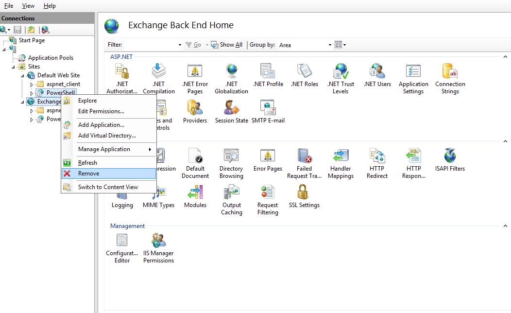 UC Guide: Exchange 2013 setup Error: The virtual directory