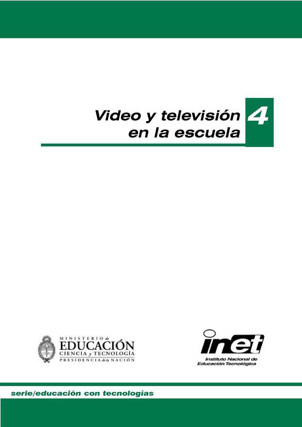 Video y televisión en la escuela