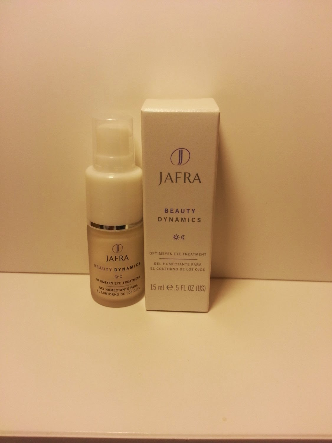 Jafra Beauty Dynamics Optimeyes Eye Treatment